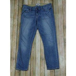 Paige Kylie Crop Jeans Light Distressed Beachwood